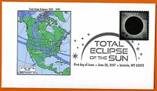 2001-2050. Total Solar Eclipses of the Sun. North America,  FDC
