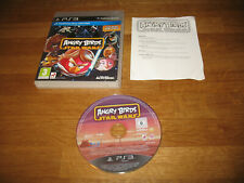 PS3 game - Angry Birds Star Wars (complete PAL)