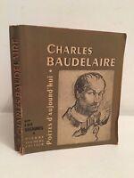 Poetas D Hoy 31 Charles Baudelaire P.Seghers 1952 Retratos ABE