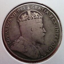 1909 New Foundland 50 cents silver