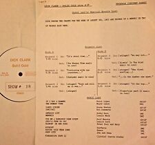 Radio Show: DICK CLARK GOLD #18 AUG '63! SURFARIS, TRINI LOPEZ, PP&M, JAN & DEAN