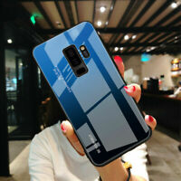 For Samsung Galaxy Note S10e S9 S8 Plus Gradient Tempered Glass Back Case Cover