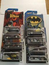 Rare 2012 Hot Wheels Batman Complete Set of 8 Walmart Exclusive with Crooze
