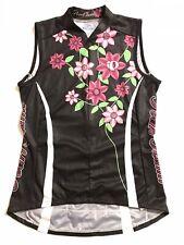 Pearl Izumi Women's PI Limited Edition Sleeveless Jersey, Moonflower, Size Small