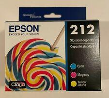Epson 212 color multi-pack ink cartridges C/M/Y