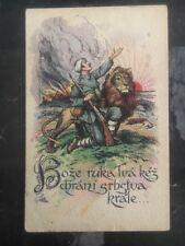 1918 Czechoslovakia Postwar Patriotic Postcard Cover