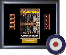 Quadrophenia Memorabilia Film Cell & Mod Target Metal Pin Badge in velvet pouch
