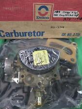 1978 CHEVROLET GMC TRUCK  6 CYL CARBURETOR GM 17055802 22-3148 NOS