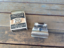 Vintage Berghman Adjustable Skate Sharpener With Box