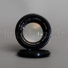 Olympus 50mm f/1.4 OM G.Zuiko Auto-S OM-System Vintage Camera Lens Film