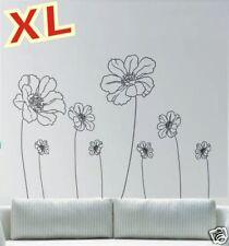 Fleur XL Floral Set Stickers muraux A0 Sticker mural Plant