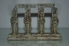 Detailed Aquarium Egyptian Pharaoh Column 17.5 x 4.5 x 14 cms For All Aquariums