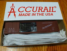 Accurail Ho #5233 L&N (50' Aar Dbl. Box Car Riv-Side) Kit Form