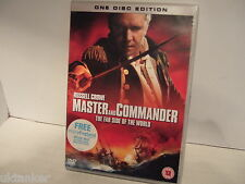 Master and Commander ( L'extrême side of The world) stars Russell Crowe