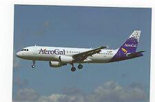 Aerogal A320-214 at Toulouse Aviation Postcard, A637