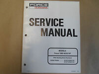 1995 Force Outboards 40/50 HP Service Shop Repair Manual 90-828821 Boat 95 X OEM