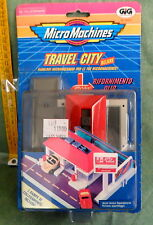 MICRO MACHINES TRAVEL CITY  RIFORNIMENTO OLIO VINTAGE ANNI 90 GIG