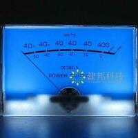 Classic McIntosh figure Lake blue Audio power Amplifier VU meter DB level Header