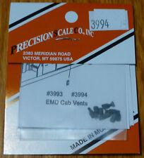 Precision Scale HO #3994 Cab Side Vents EMD Plastic Parts