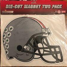 Ohio State Die-cut Helmet Magnet Rico Industries - 2 pack