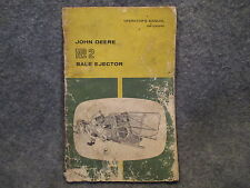 John Deere No 2 Bale Ejector Operaters Owners Manual Guide OM-E34940 Book Q270