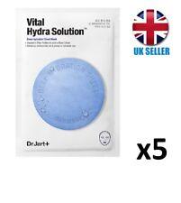 Dr.Jart + Dermask Water Jet Vital Hydra Solution Face Mask (5 Masks) UK SELLER
