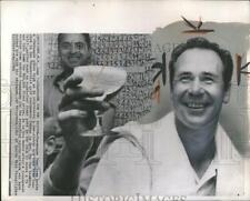 1967 Press Photo Anthony David Tony Lema American Golfe
