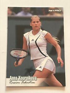2003 NetPro Tennis Premiere Edition #91 Anna Kournikova SHORT PRINT High Number