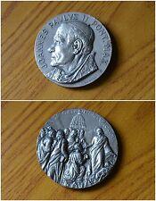 VATICAN CITY MEDAL POPE JOANNES PAULUS  II JHON PAUL II NO SILVER