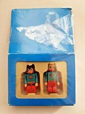 Kamiru Superman Supergirl toy Figures - Chinese Kubrick style - New