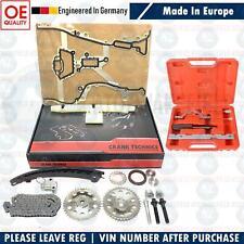 Pour Vauxhall Opel Corsa C & D 1.2 1.4 Kit Chaîne Distribution & Outil 55562234