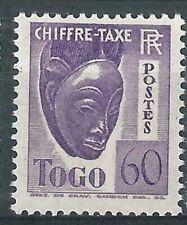 TOGO Taxe 28 - Neuf ** sans charniere