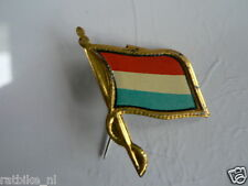 PINS,SPELDJES 50'S/60'S COUNTRY FLAGS 56 NETHERLANDS VINTAGE VERY OLD VLAG