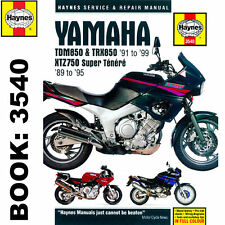 Yamaha TDM850 TRX850 YTZ750 1989-99 Haynes Workshop Manual