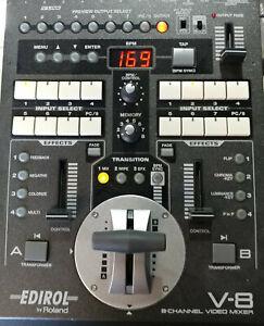 Roland Edirol V-8  Video Mixer + Power Cable