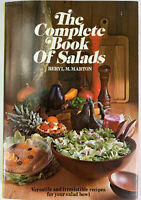 The Complete Book of Salads by Beryl M. Marton Vintage 1969 Vegetarian Recipes