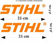 STIHL Stickers x 2  tools - window - vans -graphic decal vehicle outdoor vinyl