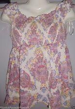 Cotton Paisley Sleeveless Tops & Shirts for Women