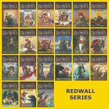 Redwall Series Set Vols.1-22 Books by Brian Jacques - FULL SIZE PAPERBACK - NEW