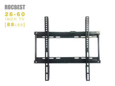 Fixed Flat Screen Bracket LCD LED TV Wall Mount  26 29 37 39 40 42 47 50 55 60