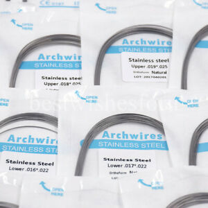 Dental Orthodontic Stainless Steel Arch Wire Rectangular Square/Ovoid/Natural