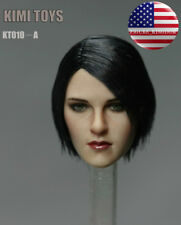 "1/6 Female Head Sculpt KIMI KT010A For 12"" TBLeague PHICEN HotToys Female Figure"