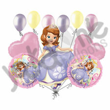 11pc Sofia the First Happy Birthday Balloon Bouquet Party Disney Princess Sophia