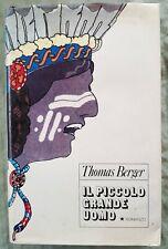 Libro Book Il piccolo grande uomo Thomas Berger copertina Rigida #UF1