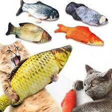 Cat Wagging Fish Realistic Plush Realistic Cat Toy Fish Catnip Mint Stuffed Pet