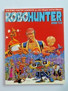 ROBOHUNTER Book Two by John Wagner and Ian Gibson Softcover Titan Books 7428
