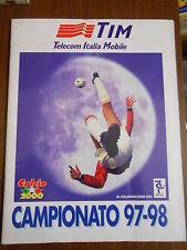 ALBUM FIGURINE CALCIO 2000- CAMPIONATO 97-98 - COMPLETO - 4 FIGURINE