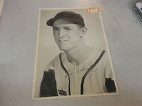 Amazing Vintage Autographed Photograph Chicago Cobs Pitcher John Schmitz