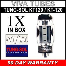 Brand New In Box Plate Current Tested Tung-Sol Reissue KT-120 Vacuum Tube KT120