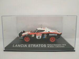 1/43 LANCIA STRATOS SANREMO 1978 ALEN IXO RALLY COCHE ESCALA DIECAST SCALE